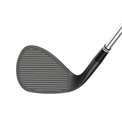 Cleveland Cbx Full-Face Black Satin Wedge Herr