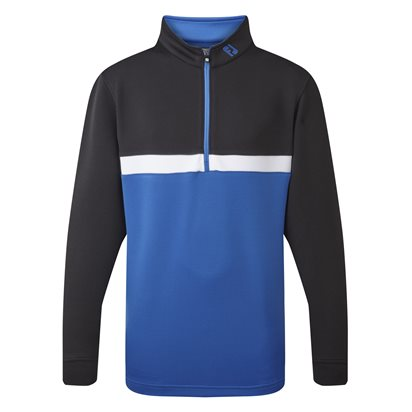 Footjoy Quarter Zip Colour Blocked Junior